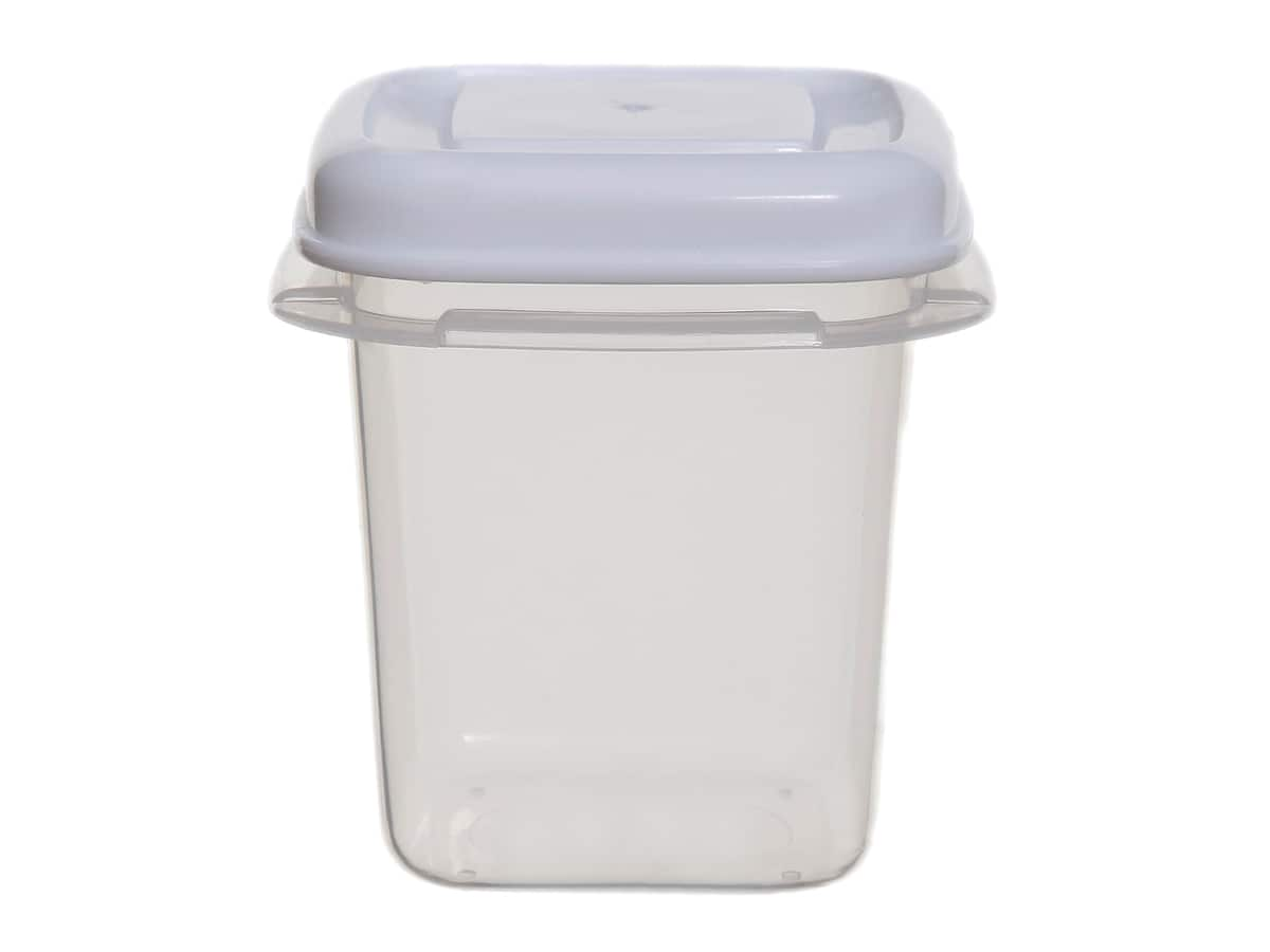 0.125Ltr Square Plastic Food Storage Container