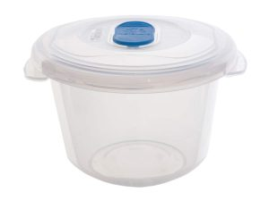 0.19Ltr Round Freezer 2 Microwave Plastic Food Storage Box
