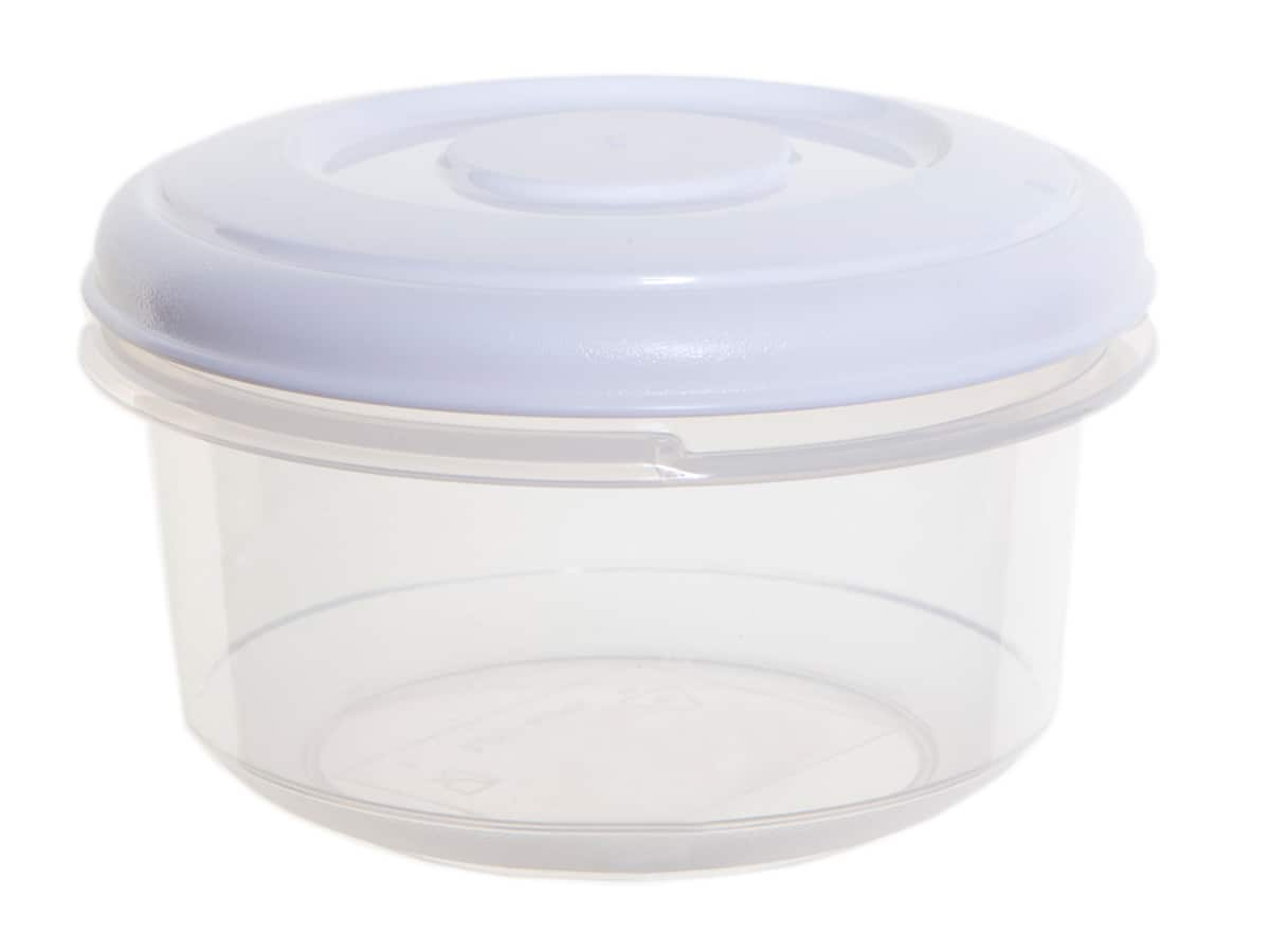 0.25Ltr Round Plastic Food Storage Container