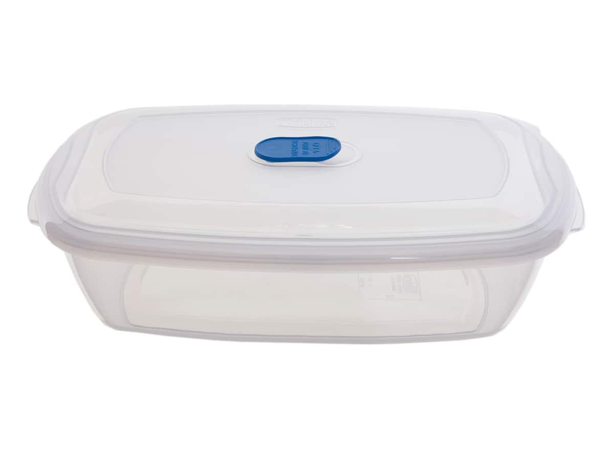 0.4Ltr Rectangular Freezer 2 Microwave Plastic Food Storage Box