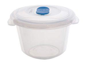 0.5Ltr Round Freezer 2 Microwave Plastic Food Storage Box