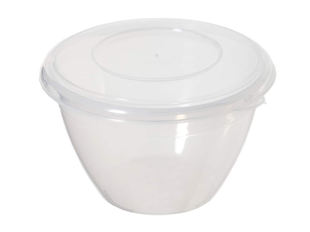 0.6Ltr Plastic Pudding Bowl