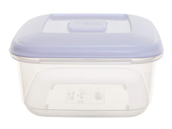 0.6Ltr Square Plastic Food Storage Container