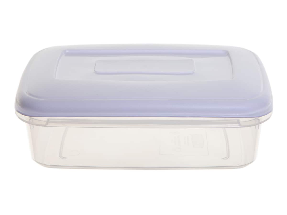 0.8Ltr Rectangular Plastic Food Storage Container