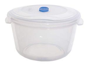 1.22Ltr Round Freezer 2 Microwave Plastic Food Storage