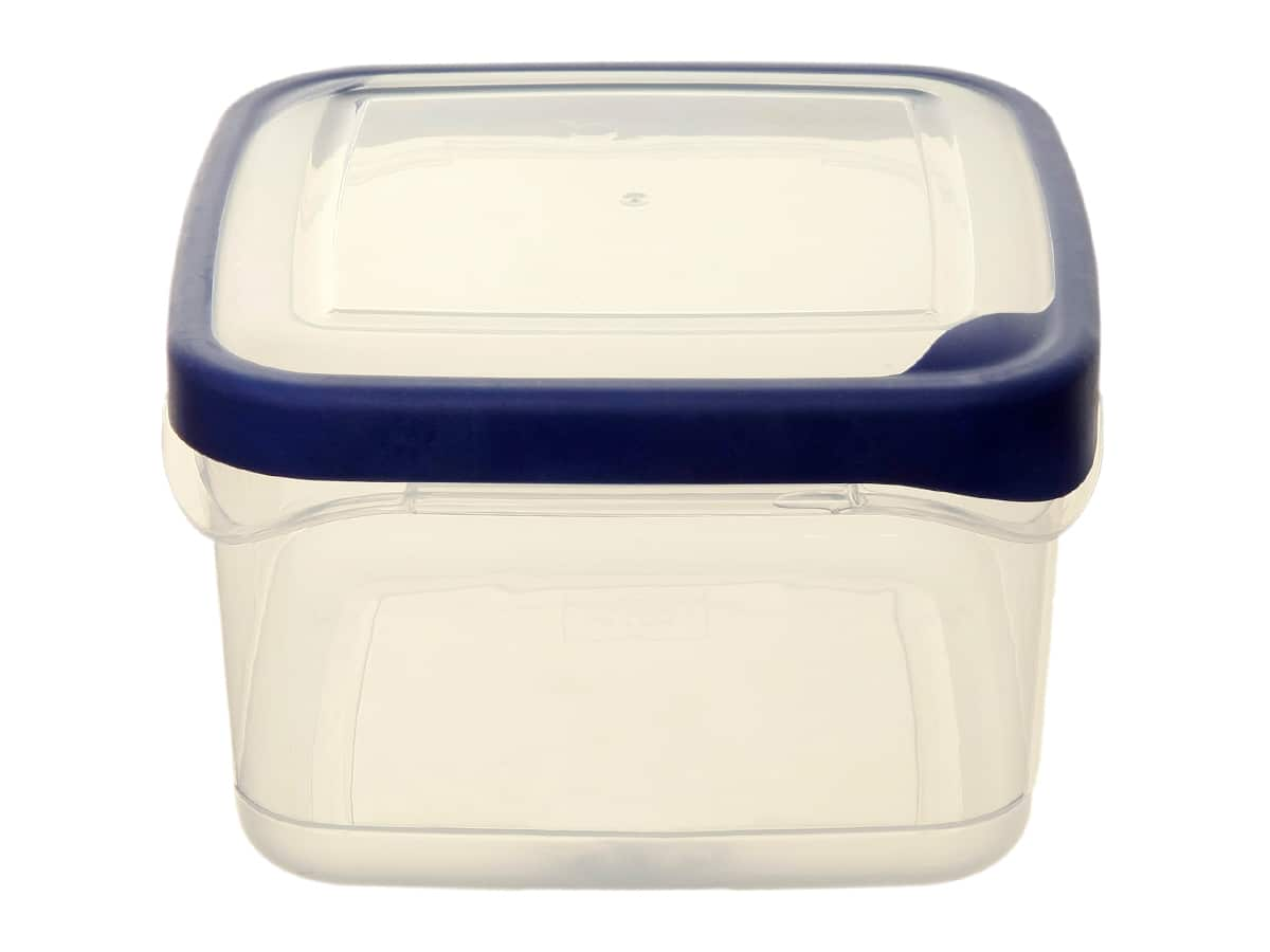 1.4Ltr Square Seal Tight Plastic Food Storage Box