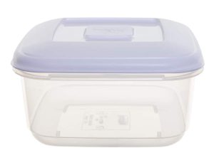 1.6Ltr Square Plastic Food Storage Container