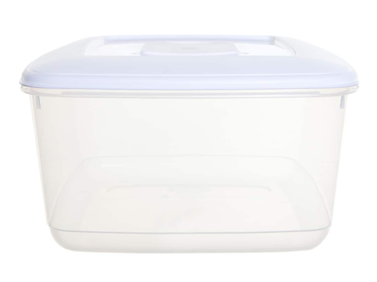 10Ltr Rectangular Plastic Food Storage Container