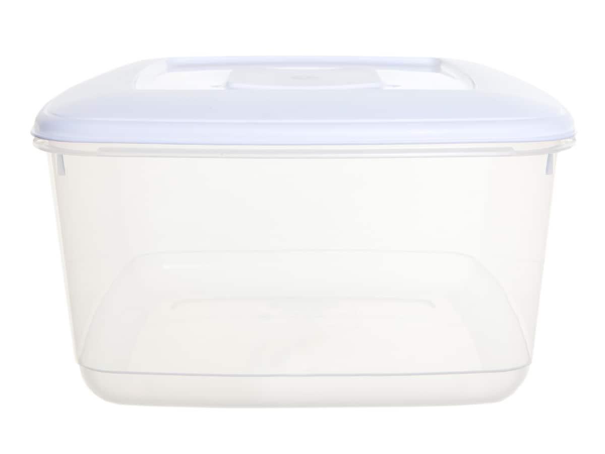 10Ltr Rectangular Plastic Food Storage Container