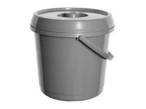 14Ltr Plastic Bucket & Lid