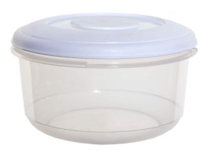 1Ltr Round Plastic Food Storage Container
