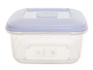 1Ltr Square Plastic Food Storage Container