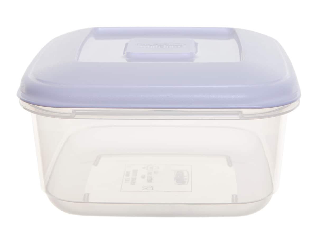 1Ltr Square Plastic Food Storage Container