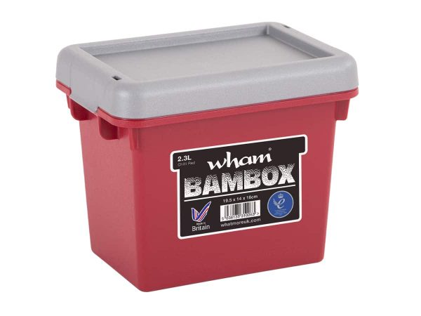2.3Ltr Wham Bambox – Red