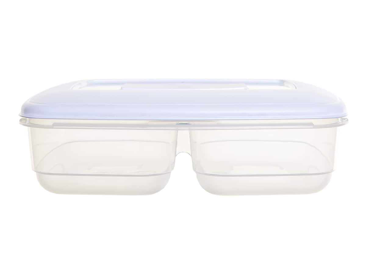 2.5Ltr Plastic Twin Food Storage Box