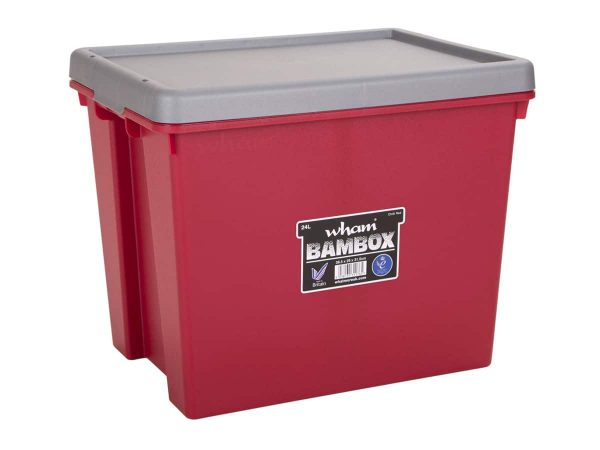 24Ltr Wham Bambox – Red