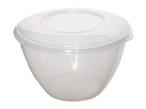 2Ltr Plastic Pudding Bowl