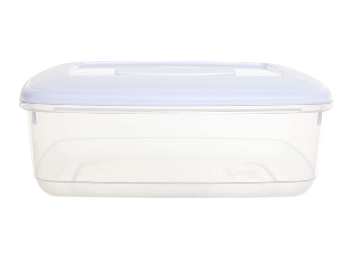 2Ltr Rectangular Plastic Food Storage Container