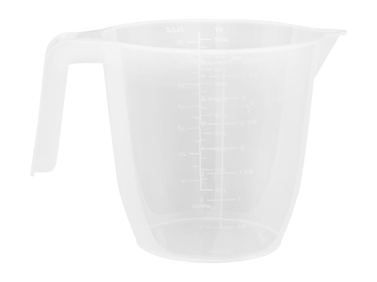 2Ltr Plastic Measuring Jug
