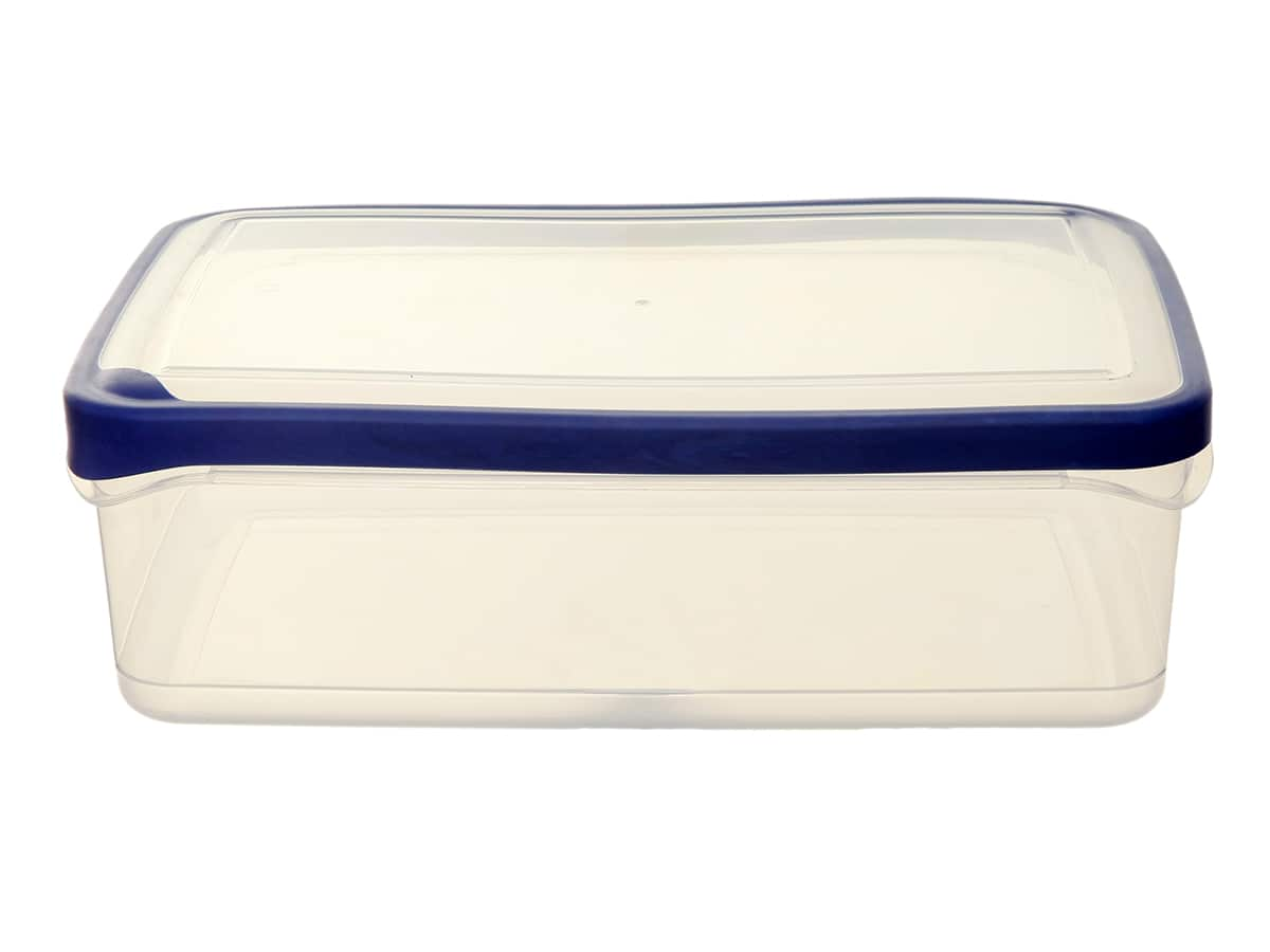 4.5Ltr Rectangular Seal Tight Plastic Food Storage Box