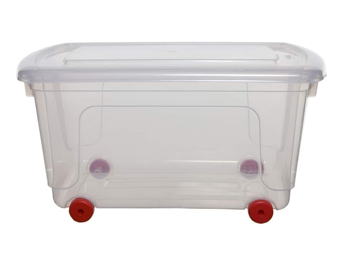 Wheeled Plastic Storage Boxes