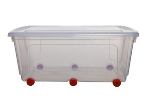 70ltr Mobile Box on Wheels