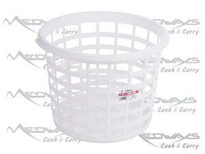 Economy Round Plastic Laundry Basket