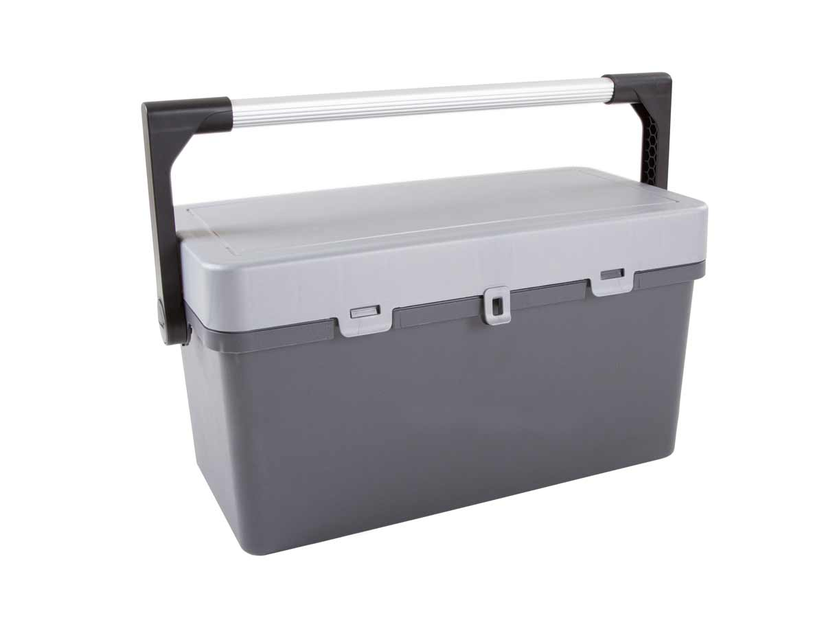 55cm Wham Bambox Toolbox Graphite/Silver