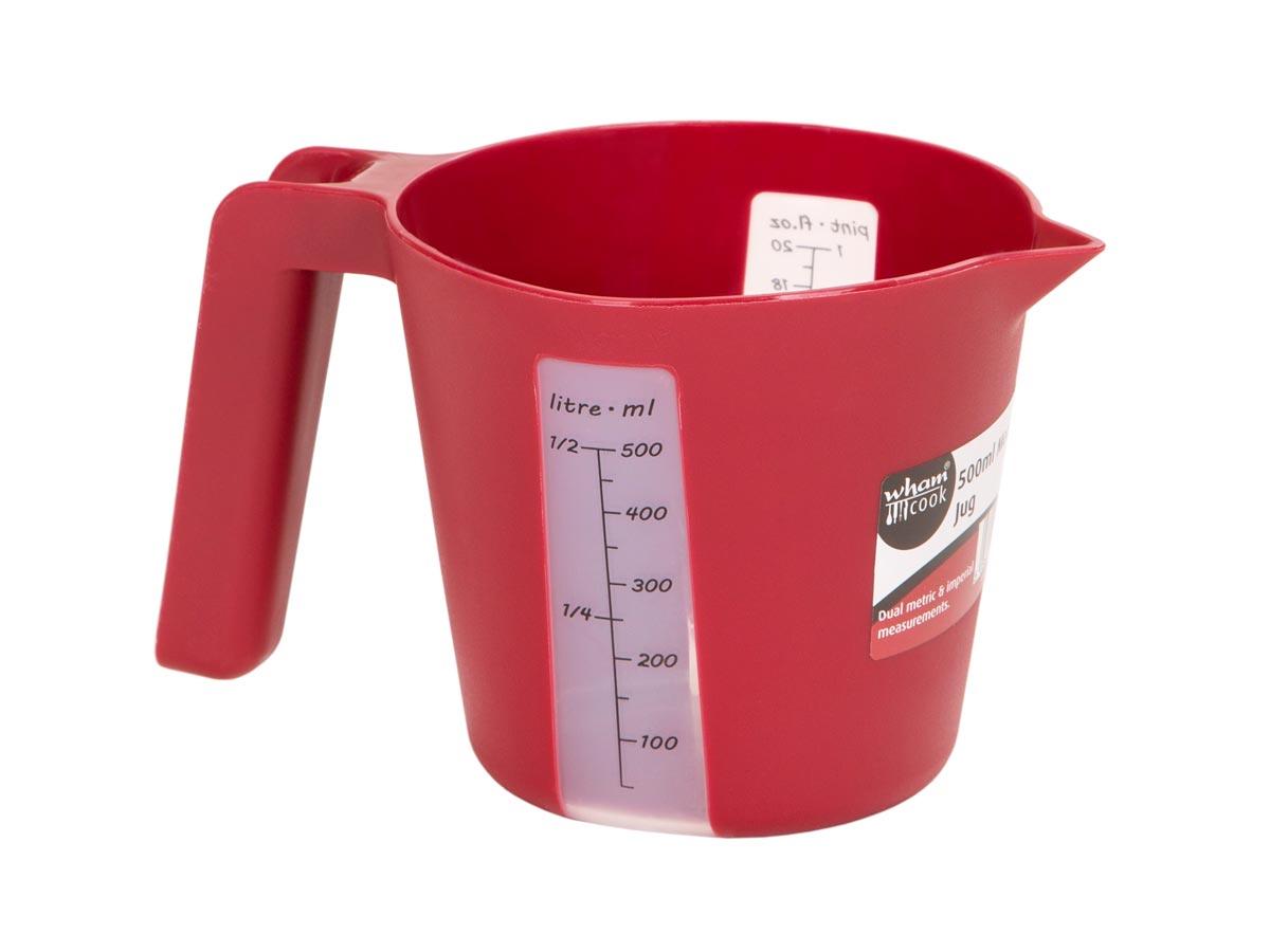 0.5ltr Plastic Measuring Jug