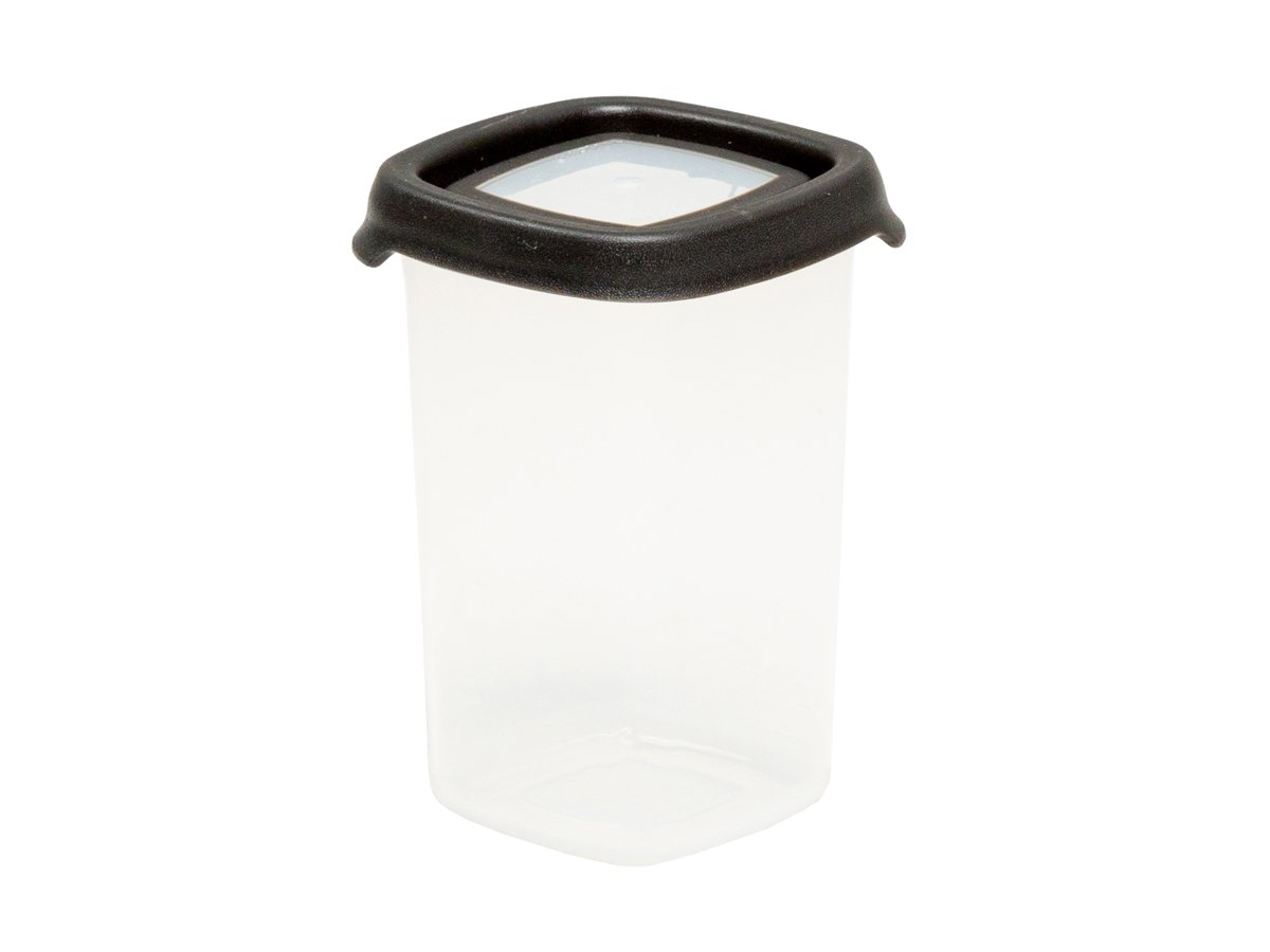 350ml Seal IT Square Plastic Food Storage Container – Graphite