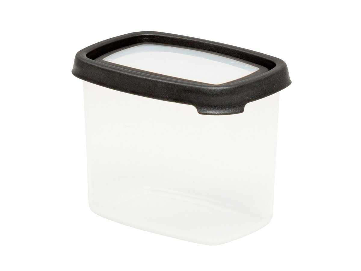 1ltr Seal IT Rectangular Plastic Food Storage Container – Graphite